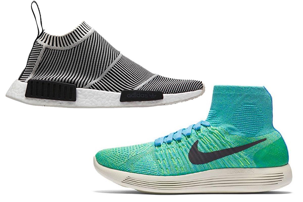 'Sock sneakers', las zapatillas con calcetín incluido que ...