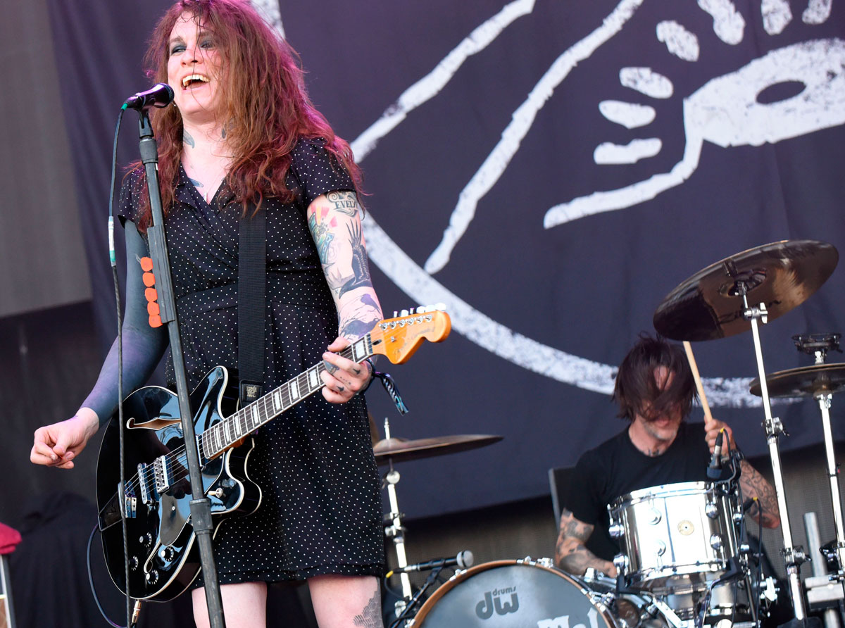 Laura Jane Grace, antes Tom Gabel, líder de Against Me.