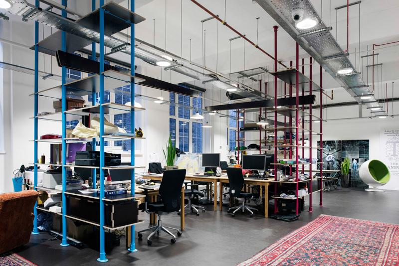 El espacio de trabajo compartido de The Trampery.