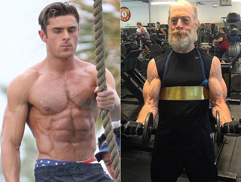 El hombre que transforma en moles de músculo a los actores de Hollywood