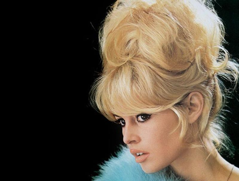 La mujer que cardó el pelo a la década de los 60