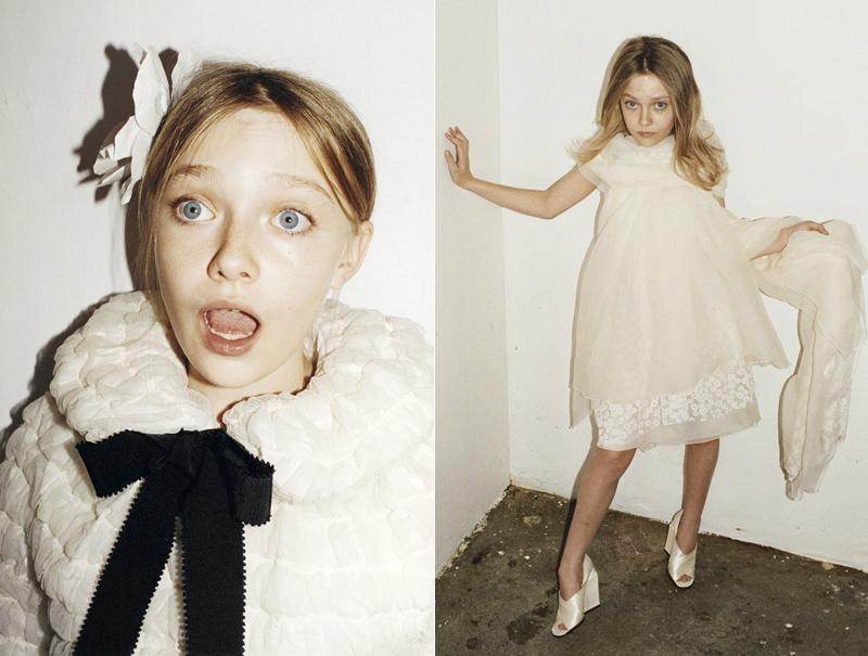 Dakota Fanning, en la polémica campaña que protagonizó para Marc Jacobs en 2007. Tenía 12 años.
