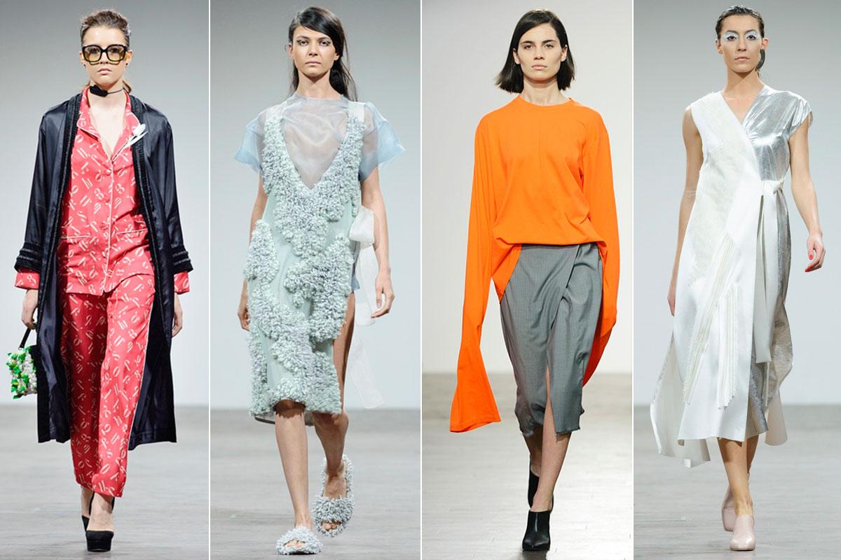 Los diseños para el próximo invierno de Alexander Arutyunov, Lalo, Situacionist y Lela Eloshvili.