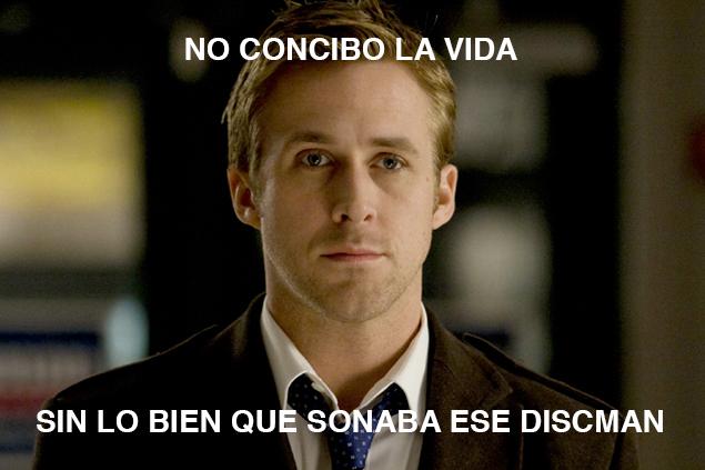 Si la cara de pena de Gosling no sirve para recuperar ese objeto perdido, es que tu amiga no tiene corazón.