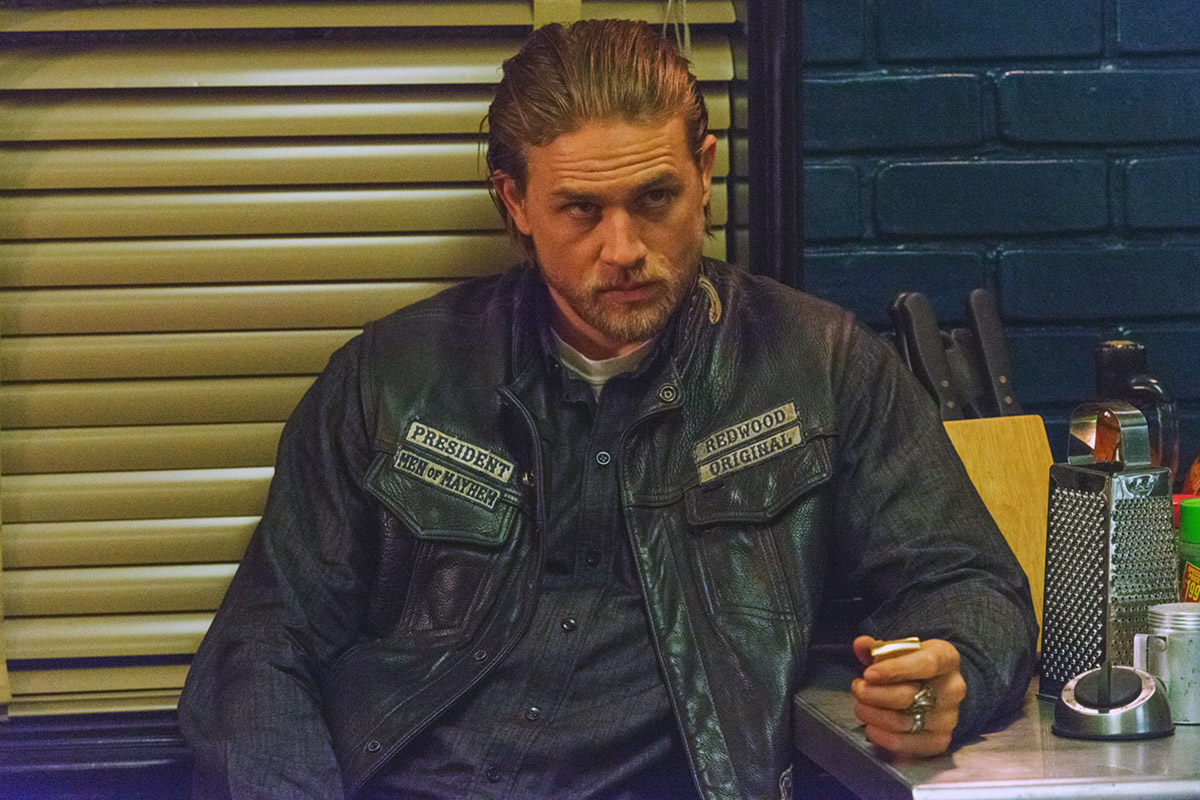 SONS OF ANARCHY, Charlie Hunnam in 'Some Strange Eruption' (Season 7, Episode 5, aired October 7,