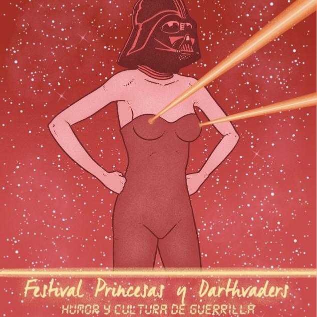 princesas y darth vaders festival