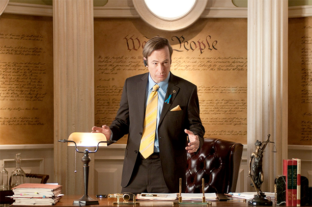 """Saul Goodman, el típico abogado sin escrúpulos dispuesto a conseguir por todos los medios posibles lo que tu """"amigo"""" no es capaz de devolverte."""