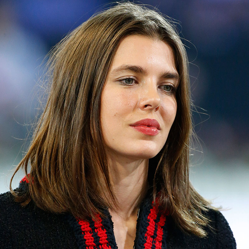 Carlota Casiraghi, pelo al natural.