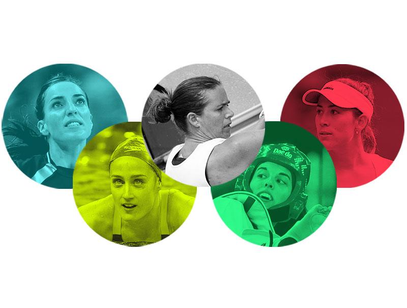 Las opciones de medalla de España se escriben en femenino