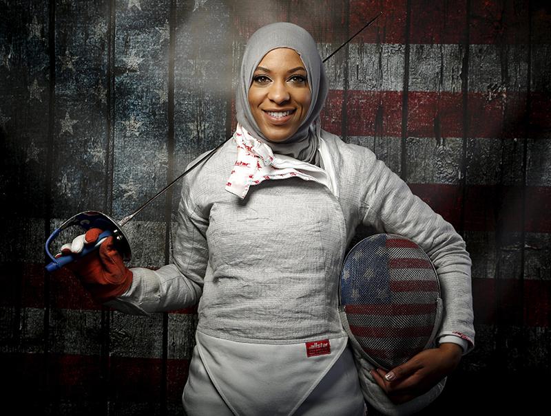 La próxima estrella de los Juegos Olímpicos es diseñadora y compite con hiyab