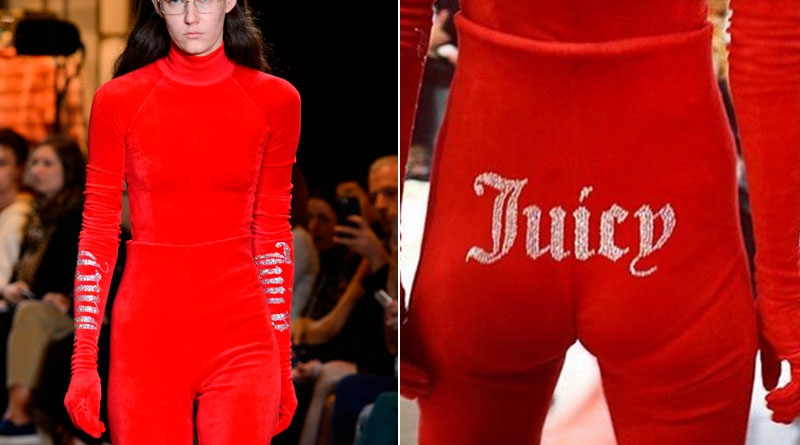 El chándal de Juicy Couture también es Alta Costura (lo dice Vetements)