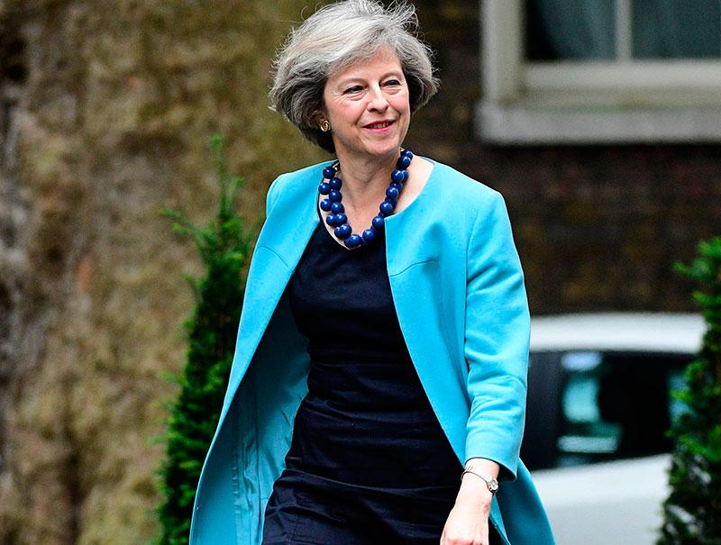 Theresa May, cuando los zapatos sí importan