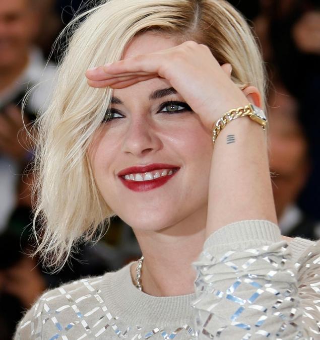 Kristen Stewart vuelve a sonreír