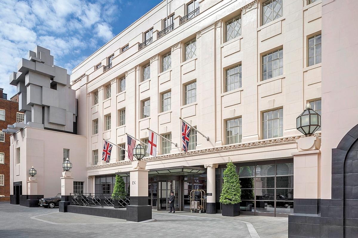 The Beaumont, inspirado en el art déco de 1920, es el primer hotel de Jeremy King y Chris Corbin (creadores de los restaurantes The Wolseley y Colbert).