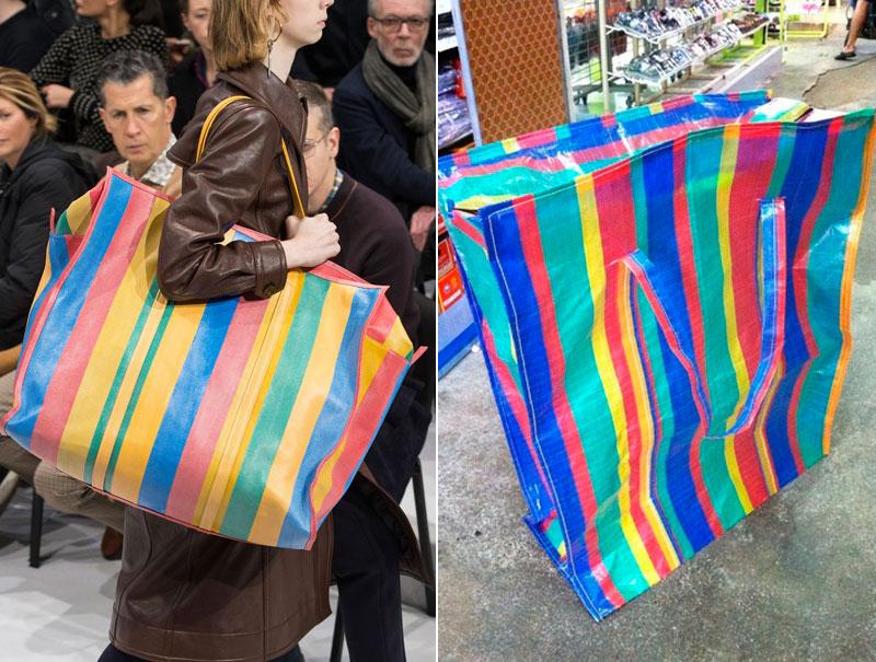 El último objeto de deseo de la moda: la bolsa de la compra de 2 euros que Balenciaga vende por 2.000
