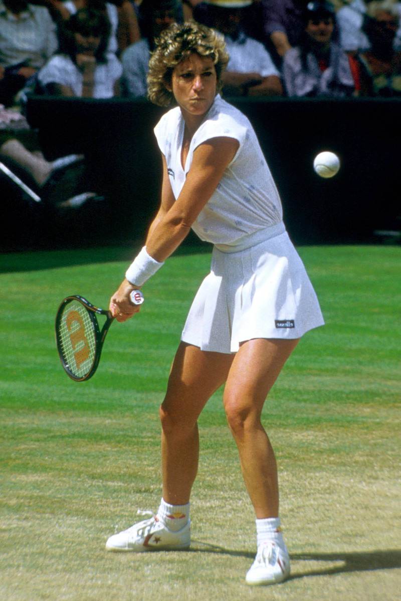 Chris Evert.