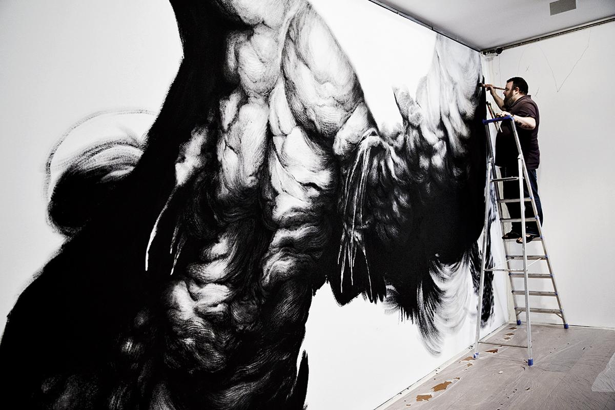 Jesús Zurita, el artista invitado a desarrollar la obra de José Guerrero en su centro homónimo