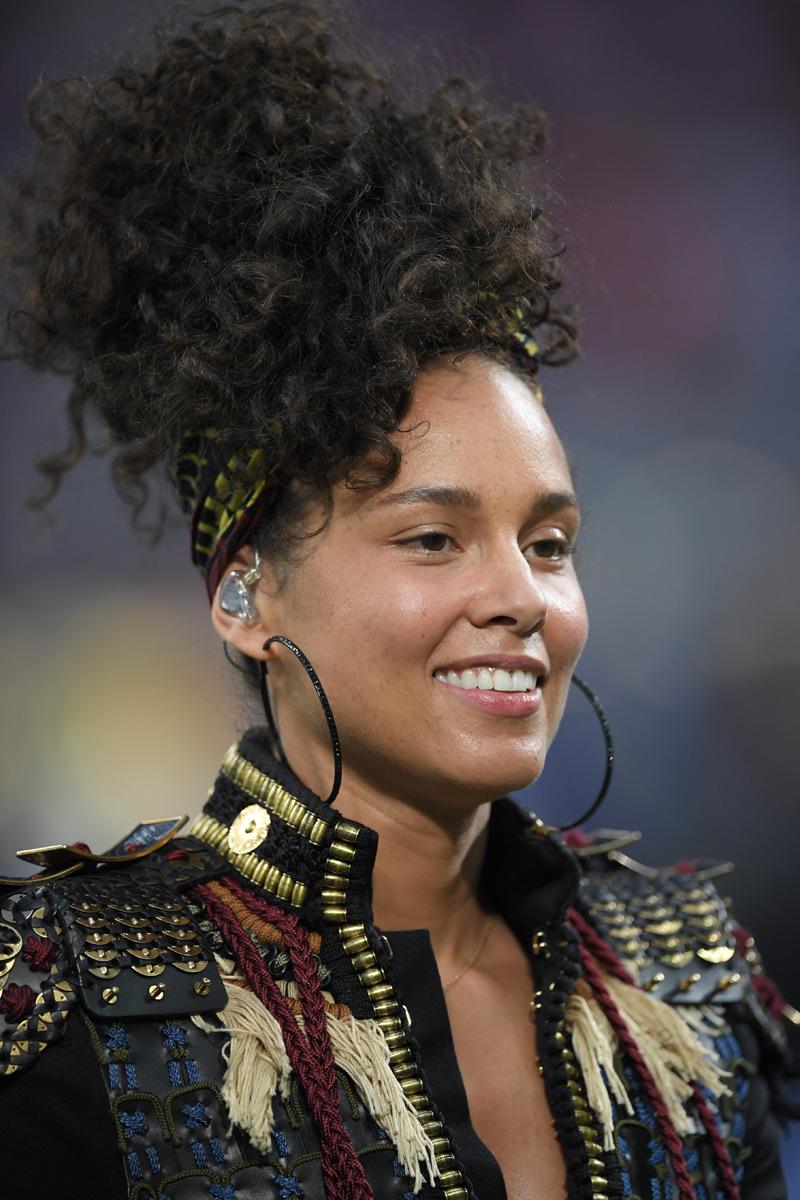Alicia Keys MTV 2016