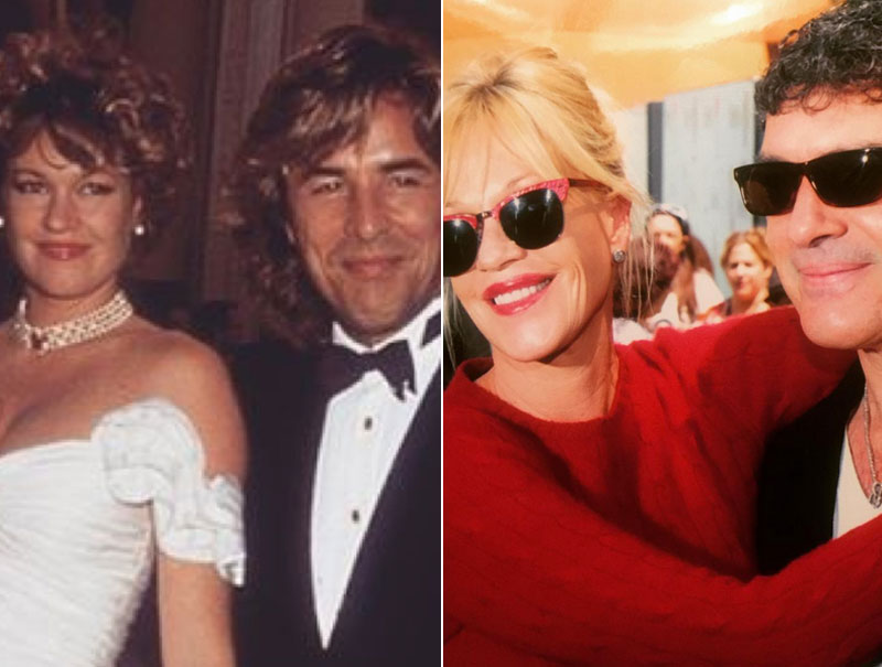 20 pruebas de que Melanie Griffith no es de las que eliminan las fotos de sus 'ex'