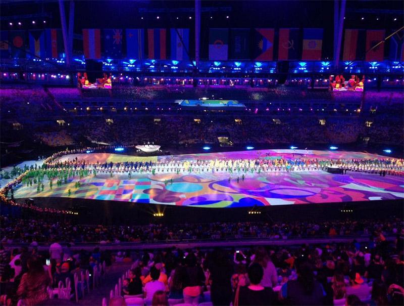 inauguración juegos olímpicos rio 2016
