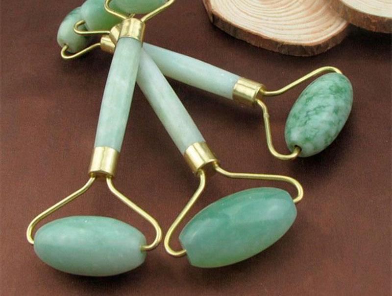 rodillo jade productos de belleza
