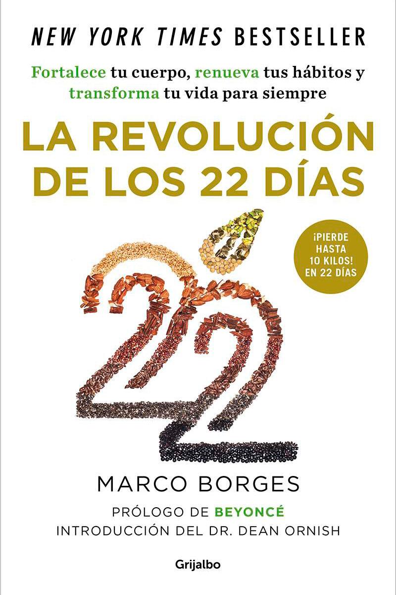 La portada del libro 'La revolución de los 22 días', con prólogo de Beyoncé.
