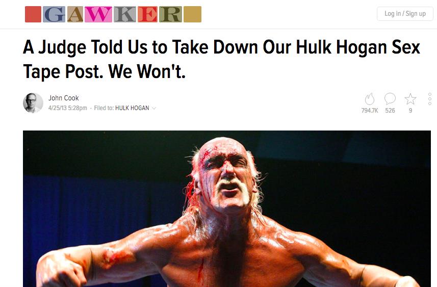 Gawker cierre