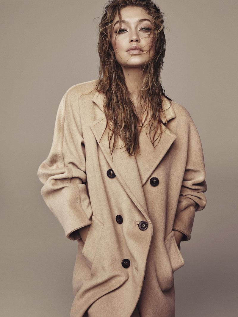 El abrigo 101801 de Max Mara nació en 1981. Hadid, en 1995. Prueba de que clásico y moderno no son excluyentes.