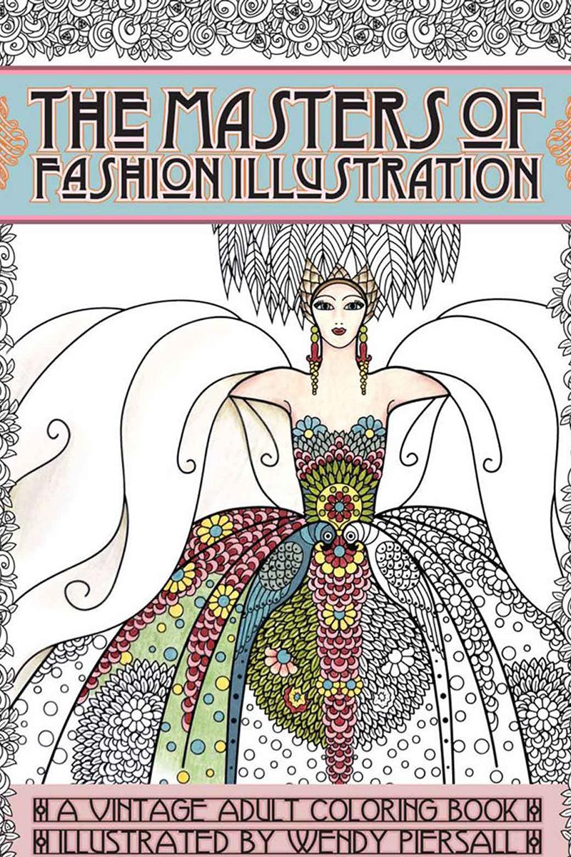 15 libros de moda para colorear (y relajarte) | Actualidad, Moda | S ...