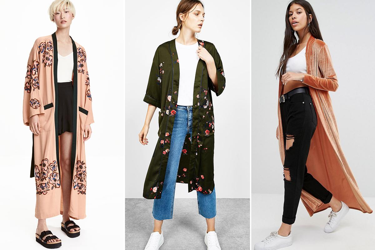 De izquierda a derecha: Propuesta de H&M, Bershka y Asos.
