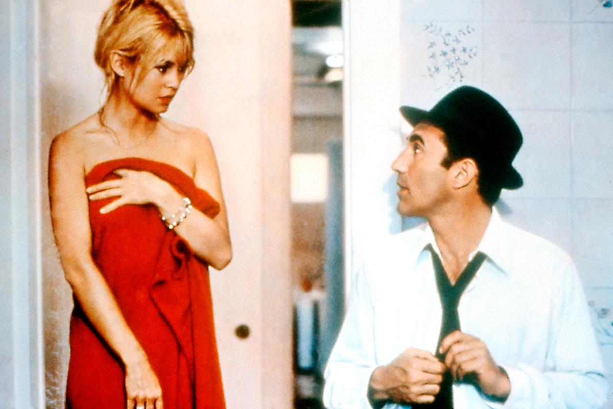 Brigitte Bardot en la película 'El Desprecio' inspiró la colección de Lacoste.