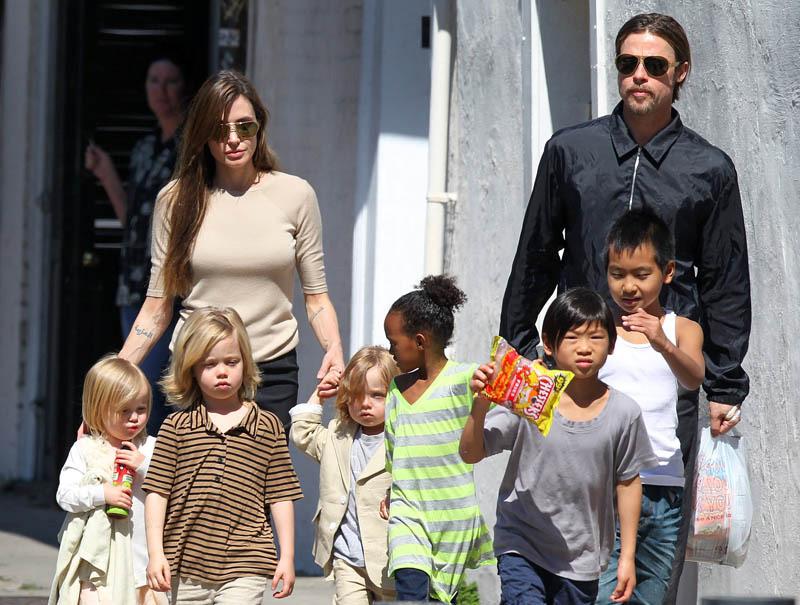 Angelina Jolie Brad pitt divorcio