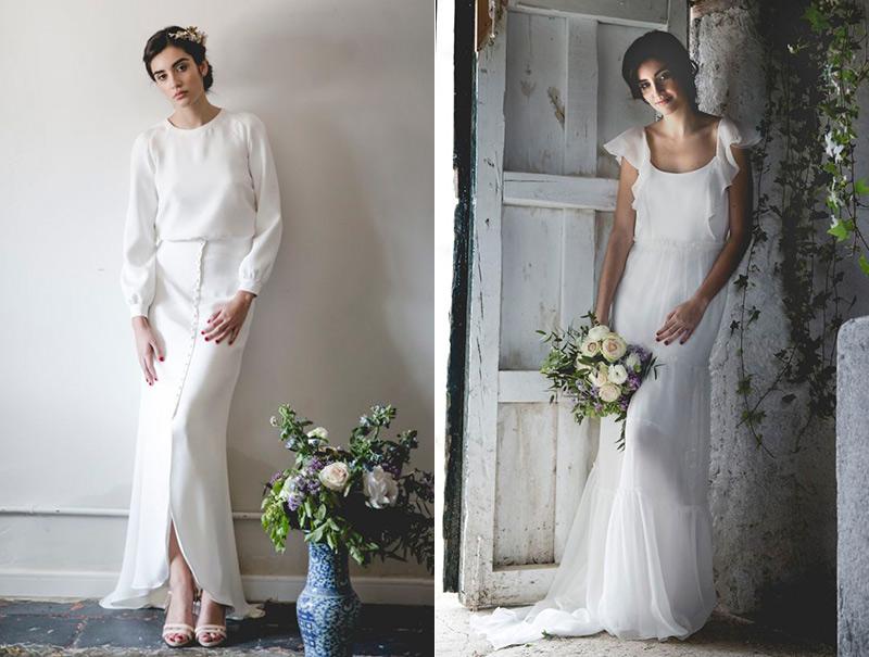 Éstos son los vestidos de novia que verás en 2017