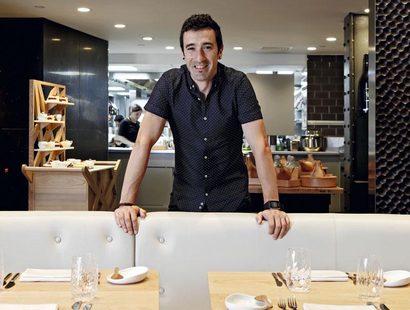 Eneko Atxa: «Quiero que al salir de mi restaurante de Londres te apetezca conocer el País Vasco»