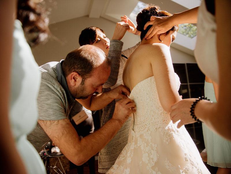El refugiado sirio que salvó el vestido de novia de una canadiense