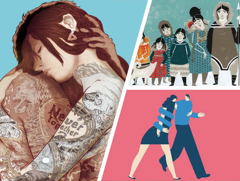 Estos son los 12 artistas españoles seleccionados en los Óscar de la ilustración