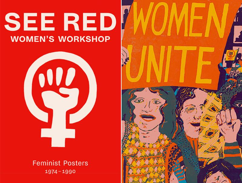 Los mejores carteles feministas los creó esta revista en los 70