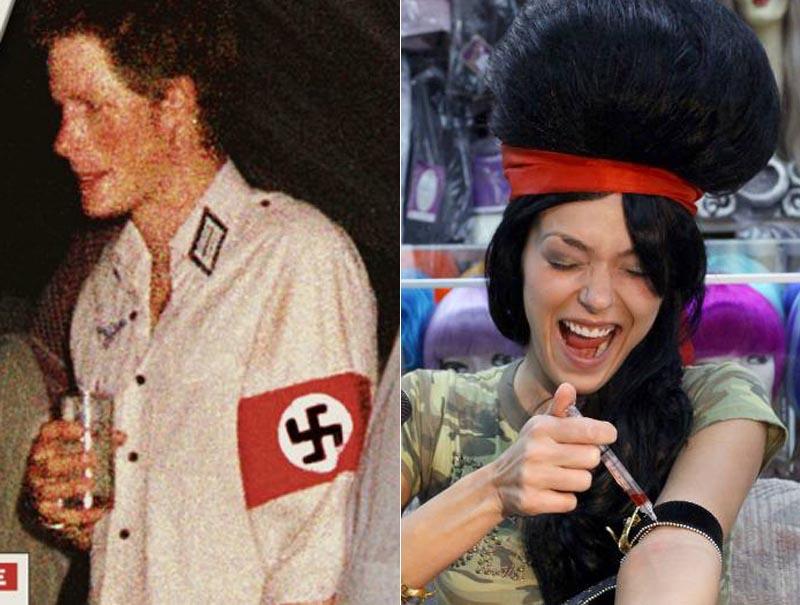 11 veces que los famosos la liaron con sus disfraces