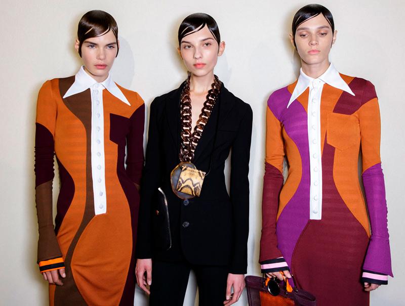 La colección más setentera de Givenchy