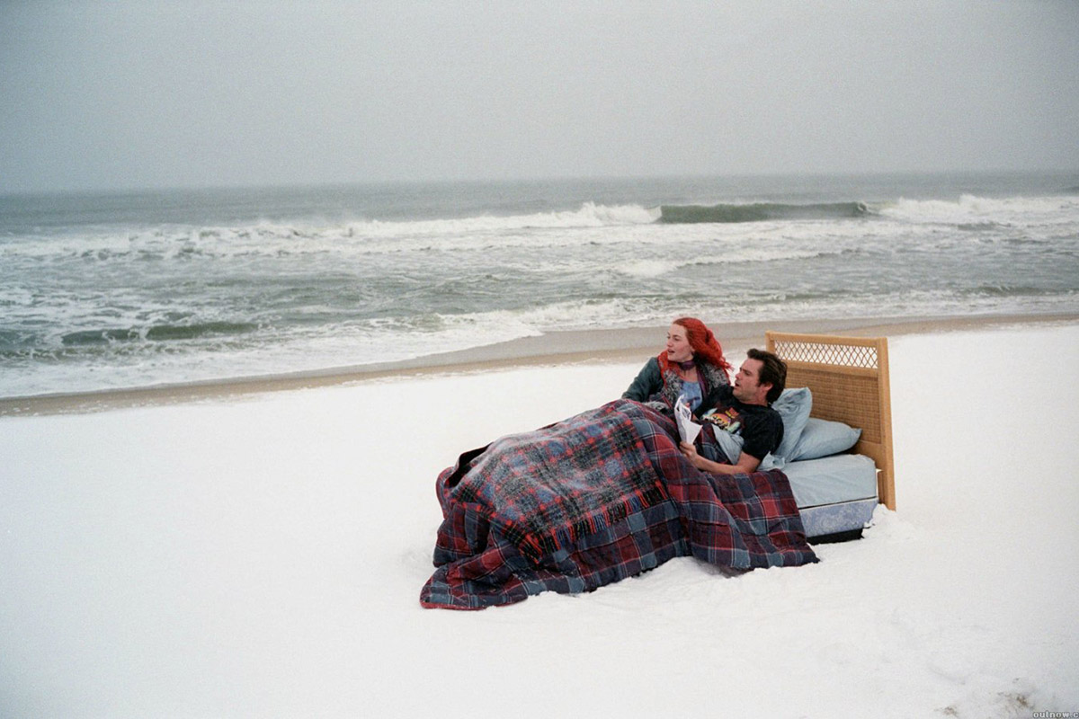 Esta inolvidable escena de '¡Olvídate de mí!' fue rodada en una de las playas vírgenes de los Hamptons.