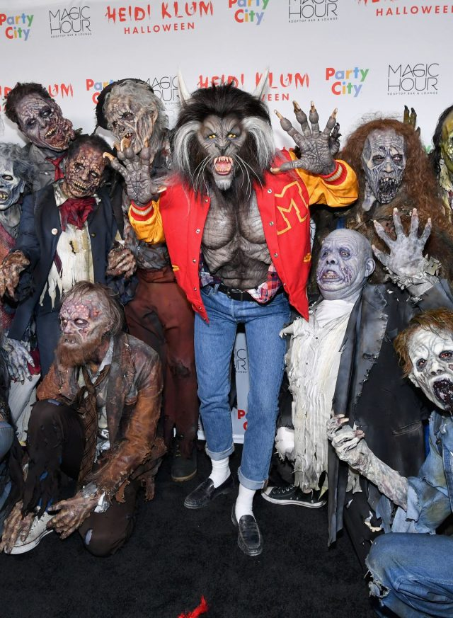 Los disfraces más terroríficos de Heidi Klum en Halloween