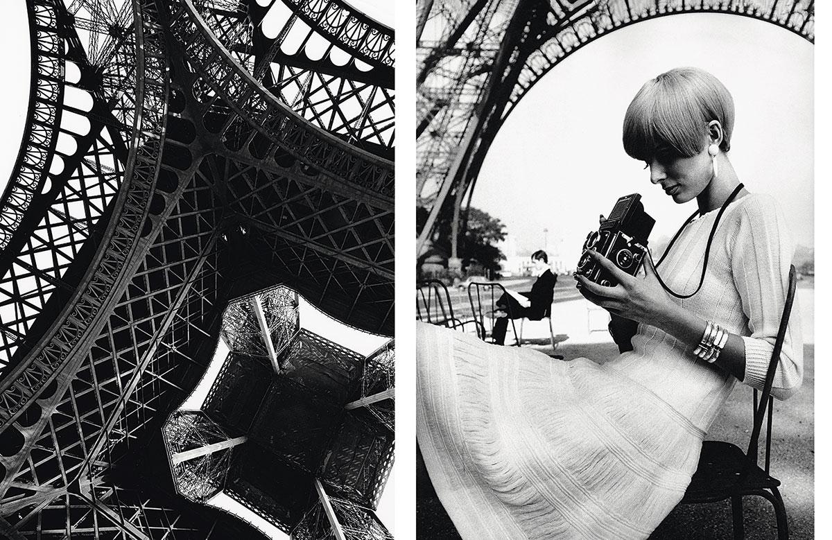Una de las fotos del volumen de París, tomada por Jeanloup Sieff en 1965.