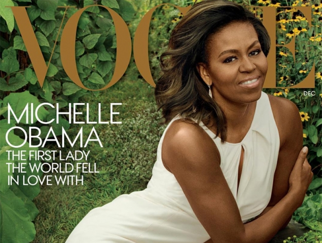 Vogue despide a Michelle Obama con una espectacular portada