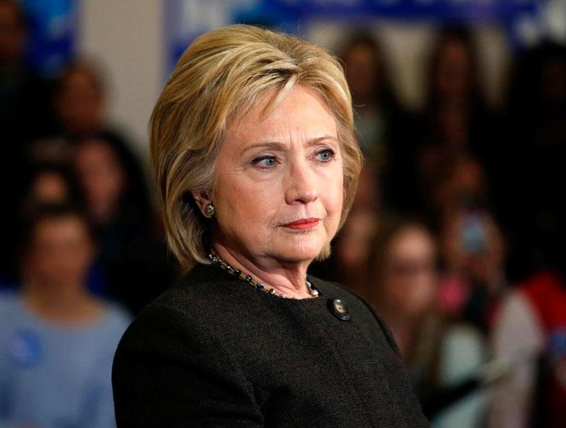 La lista de todos los insultos sexistas que ha recibido Hillary Clinton