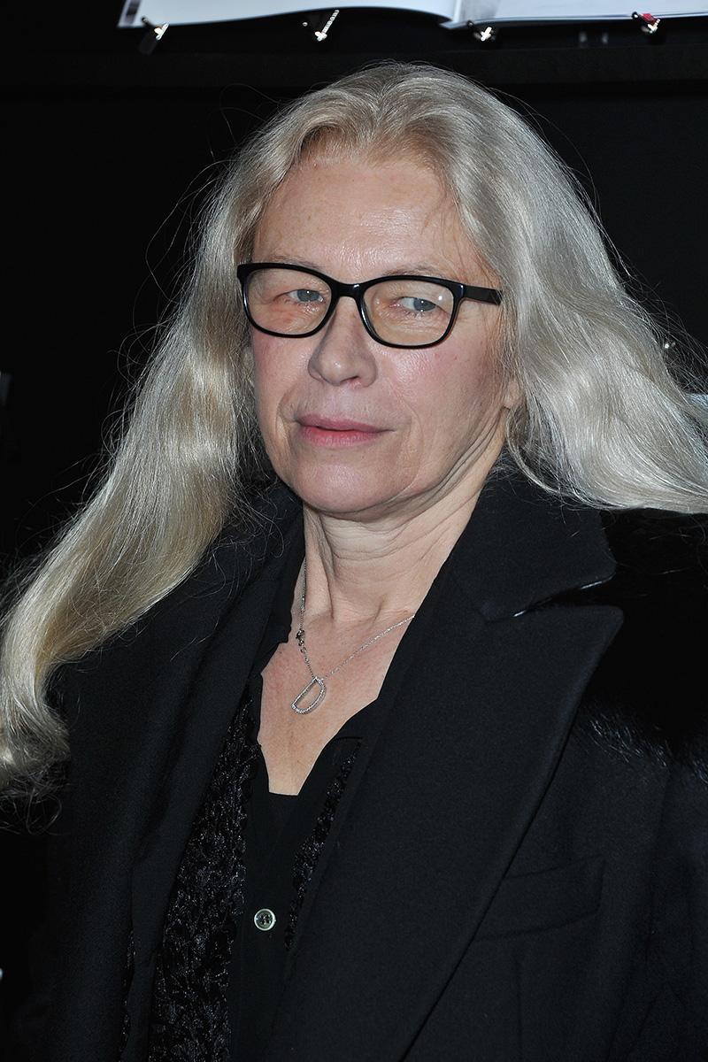 Retrato de Dominique Isserman tomado en los Premios César en 2014.