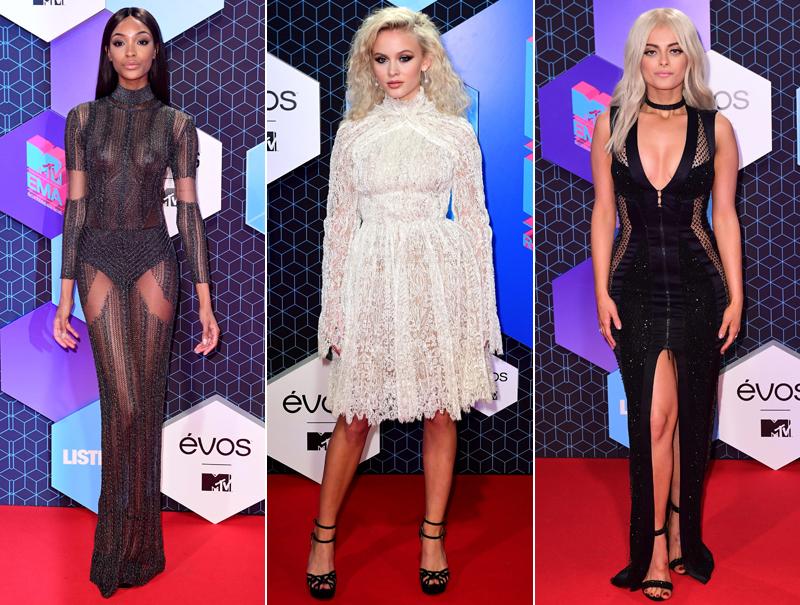 La alfombra roja de los premios MTV EMAs