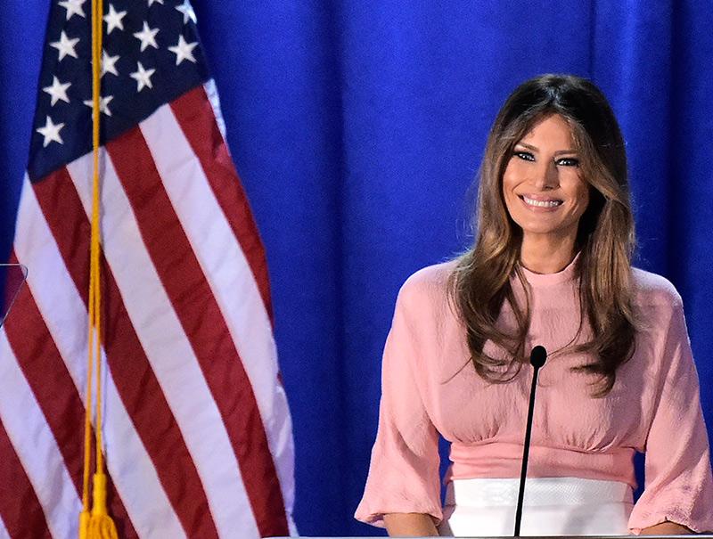 La diseñadora que se niega a vestir a Melania Trump