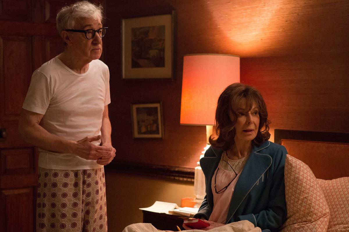 Woody Allen en una imagen de 'Crisis en seis escenas'.