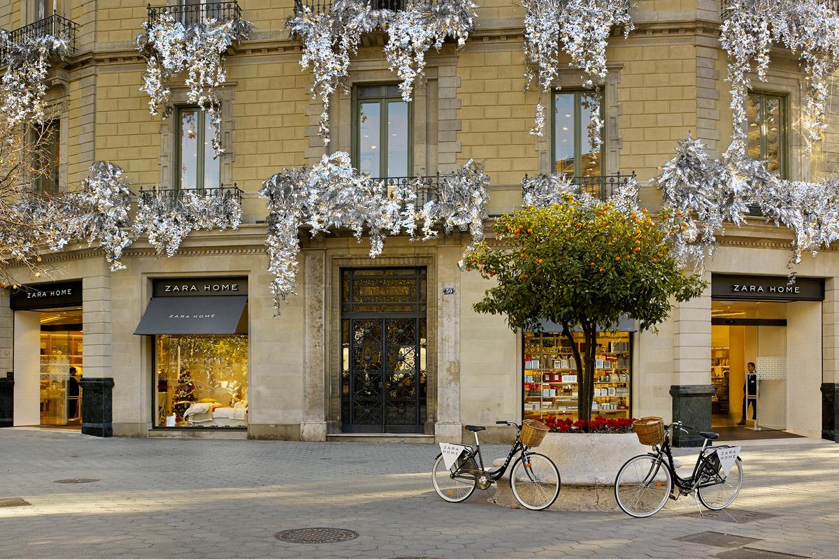 La tienda Zara Home en el Paseo de Gracia (Barcelona).