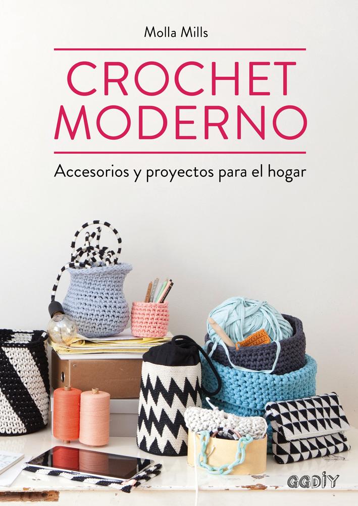 Portada de Crochet Moderno (Gustavo Gili).
